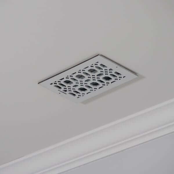 Gemstone - Vent Cover - Ceiling Close Up, Decorative Air Vent, Custom Air Vent Cover, Stellar Air, Charleston, SC