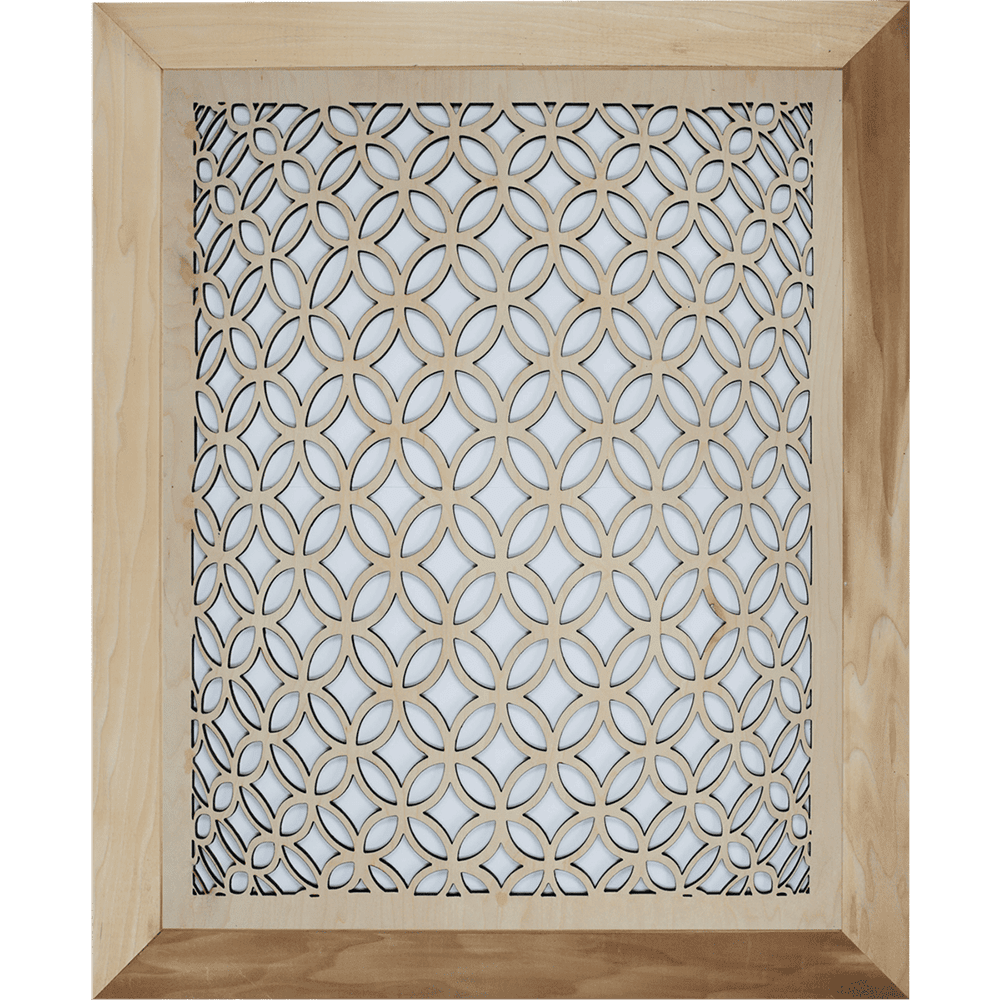 3D Circular - Grille Cover - With Frame, Intake Air Grille, Air Vent Grille Cover, Decorative Air Vent, Stellar Air, Charleston, SC