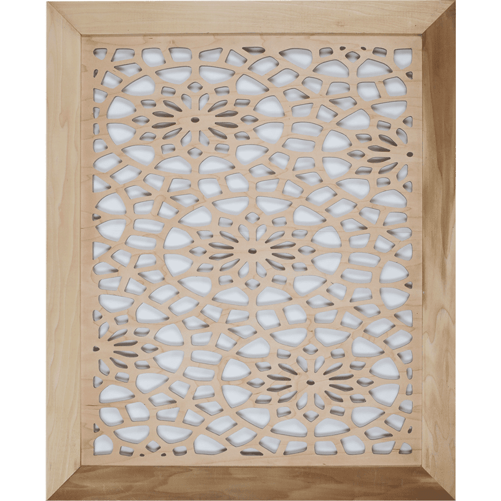 Floral – Grille Cover