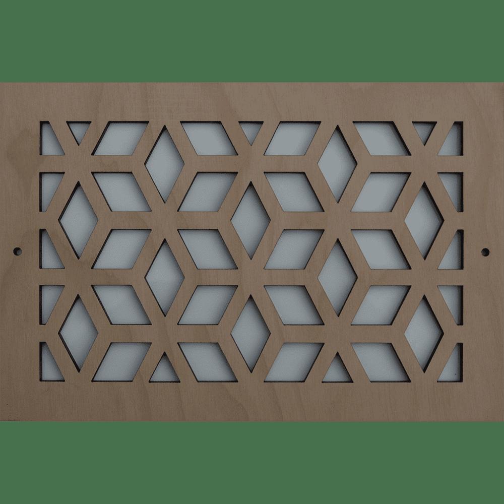 Cubes - Vent Cover, Decorative Air Vent, Decorative Vent Cover, Custom Air Vent Cover, Stellar Air, Charleston, SC