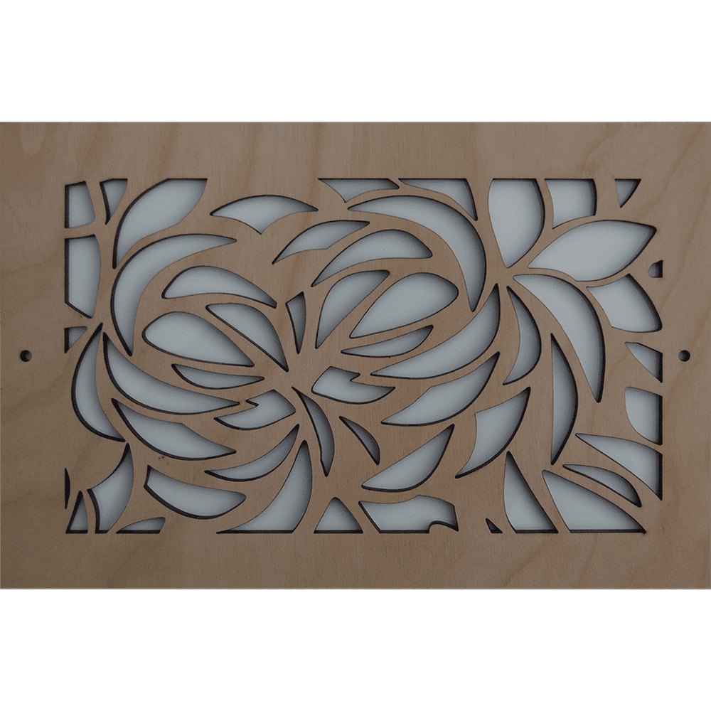 Leaves - Vent Cover, Decorative Air Vent, Decorative Vent Cover, Custom Air Vent Cover, Stellar Air, Charleston, SC
